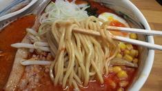 流特製辛味噌・普通麺