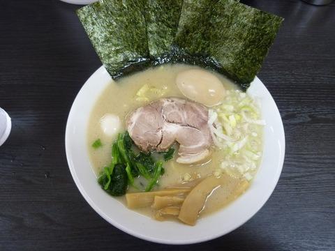 松壱家 塩+味玉