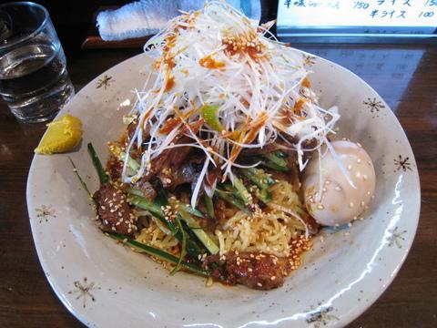 ハオマー・煮鶏の冷し麺+味玉子