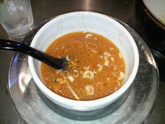 ZUND−BAR冬の味噌つけ麺・結構濃いんでスープは全入れ