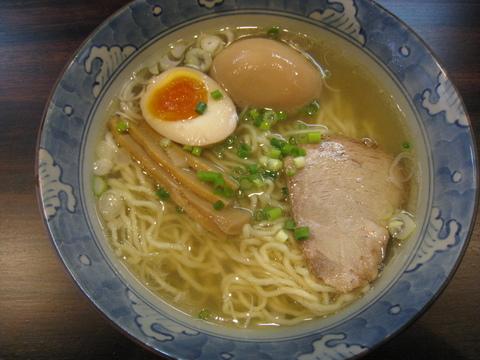 MUGEN・味玉らぁ麺・塩味