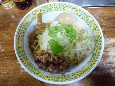 油そば+味玉