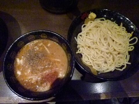 渡り蟹の味噌つけ麺