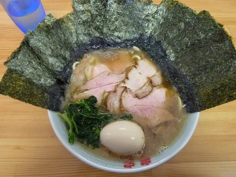 竜家 チャーシューメン+のり+味玉