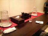 中村屋テーブル上2