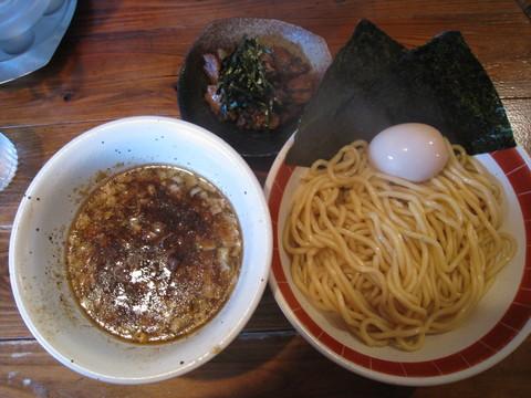 吉田製麺店・和風豚骨醤油+味玉+コロコロ焼豚