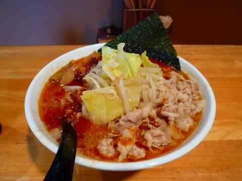 朱火阿 朱味噌麺