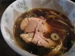ごきげん鳥・つけ麺・チャーシュー