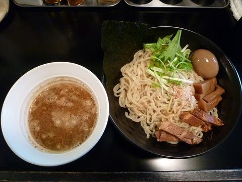 虎二 魚のつけ麺+味玉