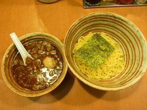 錦 つけ麺+味付け玉子