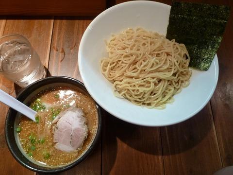 秀膽 塩つけ麺+地鶏味付け玉子