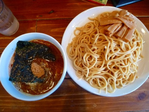 万年青 極太つけ麺+メンマ