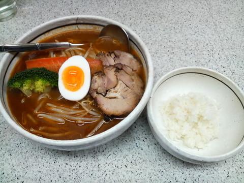 めんくら札幌スープカレー麺