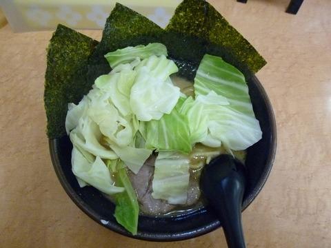 キャベツラーメン+味玉