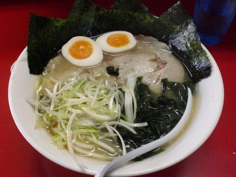 九頭竜・九頭竜麺+味付け玉子