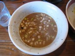 吉田製麺店・割りスープ後