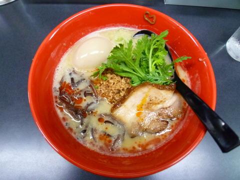 鶏白湯担担麺+味玉