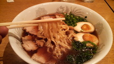 まるぼし食堂特製中華そば・麺