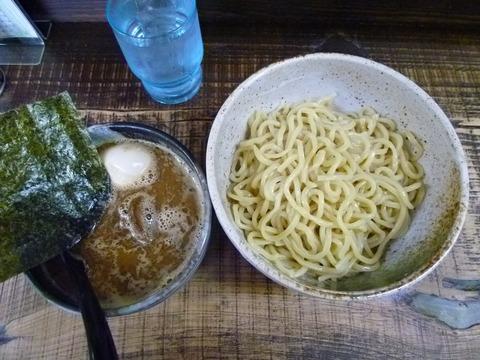 つけ麺+味付玉子