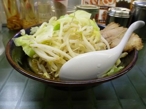 ぎょうてん海老名 ぎ朗(小)+(ぎ朗)野菜増し