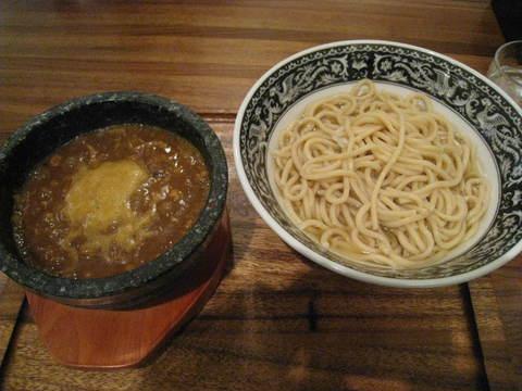 つけマサラ・温盛り+極太麺