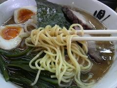 鼎・特製ラーメン・麺