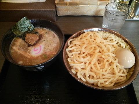 清勝丸つけめん(中)+半熟玉子