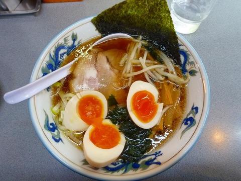 トリトン東京しょうゆラーメン+味玉