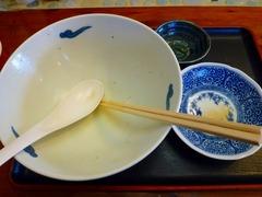 麺や食堂 完食