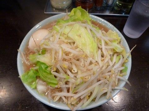 町田大勝軒・とんこつ野菜ラーメン(並)+半熟味玉