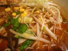 陳健一麻婆豆腐店・坦々麺・野菜