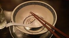 中村屋鶏辛麺完食