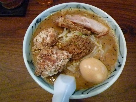 ガッツリ!味噌麺