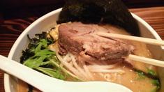 くらかど濃厚味噌ら〜麺・チャーシュー