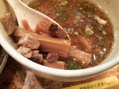 オハナ堂魚介とんこつつけ麺・具