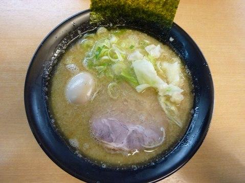 零・魚+濃厚スープ+味玉