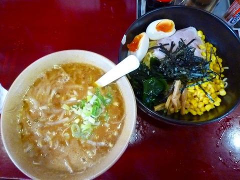 かしわ屋函館カレーつけ麺