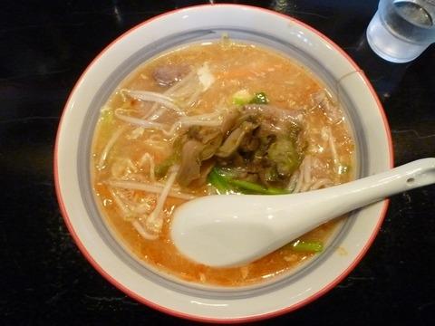 天竜 酸辣湯麺