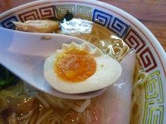 日の出製麺所・味玉
