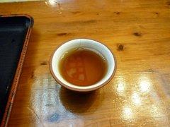 麺や食堂 黒烏龍茶