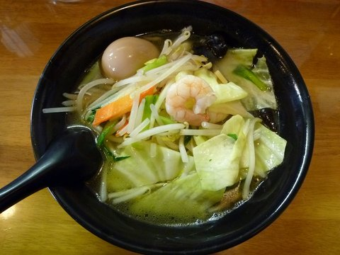 一歩 タンメン+味玉