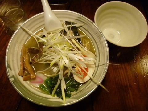 浅蜊そば+味玉