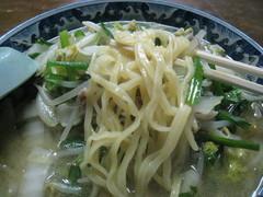 三幸苑・タンメン・麺