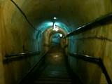 旧海軍司令壕の階段