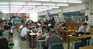 小川港魚河岸食堂の雰囲気