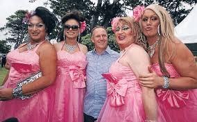 John key with drag queen