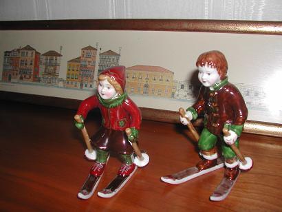 スキー人形