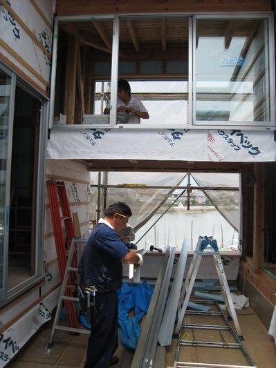 吊り部屋のロフト