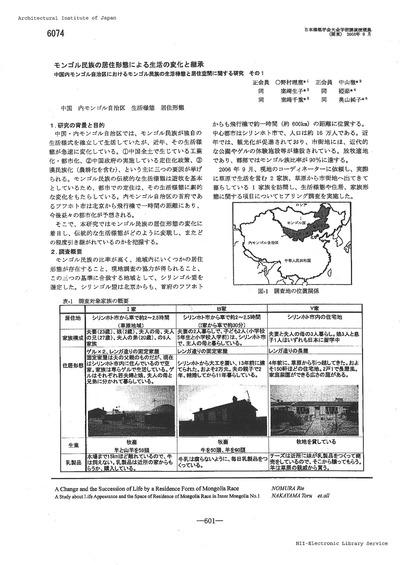 200609-1モンゴル民族の住居形態・・・