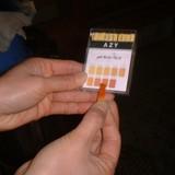 灰汁のアルカリ度測定�